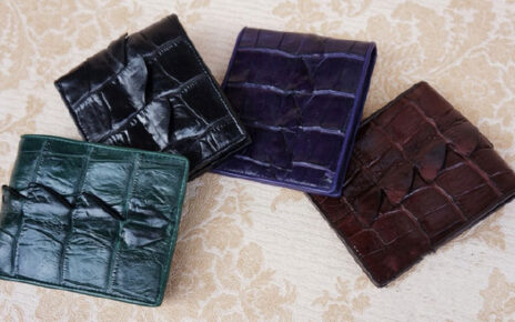How to distinguish between the real crocodile leather